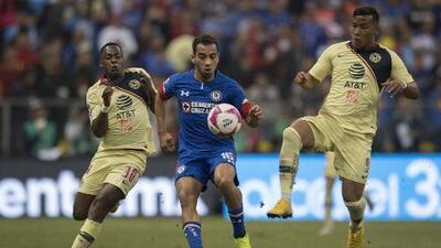 América y Cruz Azul confirmaron sus 11 titulares para la Final de ida en el Azteca