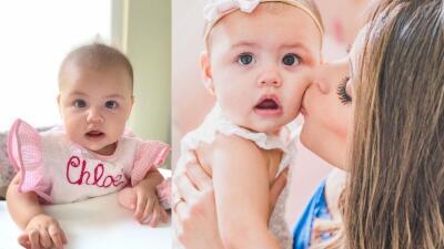"""Carolina Sarassa siente """"un amor de otro mundo"""" por su bebé Chloé Sophia"""