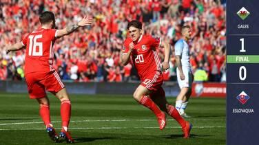 Gales apenas le gana a Eslovaquia con una aportación gris de Gareth Bale