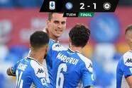 ¿¡Qué pasó!? 'Chucky' Lozano no juega en triunfo del Napoli