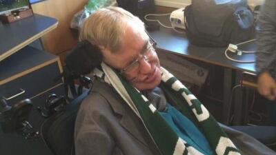 Stephen Hawking se hizo aficionado de Portland Timbers de la MLS