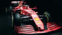 Así el SF21, el nuevo auto de Ferrari para el Mundial de F1 en 2021