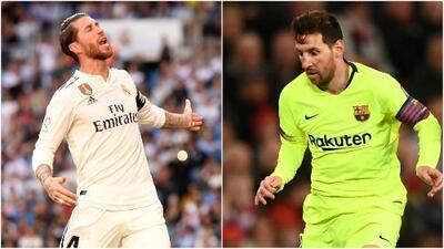 Real Madrid y Barcelona presentarán bajas contundentes para la jornada de La Liga
