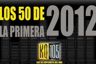 Los 50 de La Primera 2012