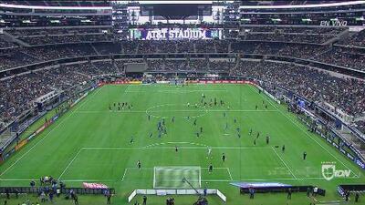 Confirmadas las alineaciones de México y Ecuador para el amistoso en el Estadio AT&T