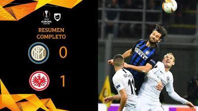 Inter de Milan 0-1 Frankfurt - GOL Y RESUMEN - VUELTA - OCTAVOS DE FINAL - UEFA Europa League