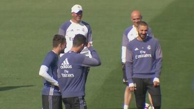 El Real Madrid se quedó sin la BBC para enfrentar al Sporting de Gijón