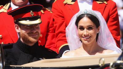 En fotos: los mejores momentos de la boda del príncipe Harry y Meghan Markle