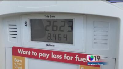 Suben los precios de la gasolina
