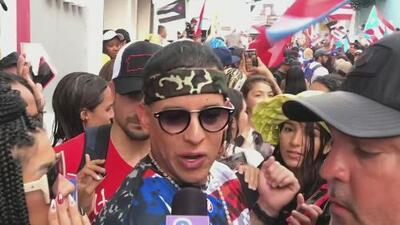 """No es Daddy Yankee, """"es Ramón Ayala"""" (su nombre de pila) quien se manifiesta junto al pueblo en Puerto Rico"""