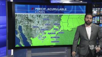 Llegará la lluvia a San Antonio esta semana