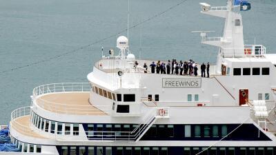 Aislados en el mar Caribe: regresan un crucero con 300 pasajeros en cuarentena por sarampión (fotos)