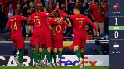 Una raya más al tigre: CR7 alza con Portugal la UEFA Nations League a costa de Holanda