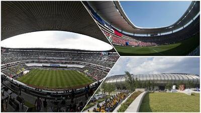 México apenas aportará tres estadios a la candidatura de 49 sedes para el Mundial del 2026