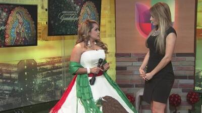 Devotos se preparan para cantarle 'Las Mañanitas' a la Virgen de Guadalupe