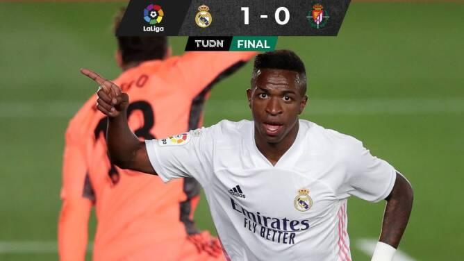 Da Vinicius la victoria al Real Madrid