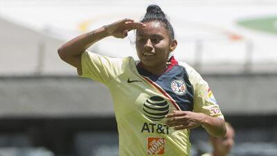 Dayana Cázares espera continuar con su racha goleadora en el América
