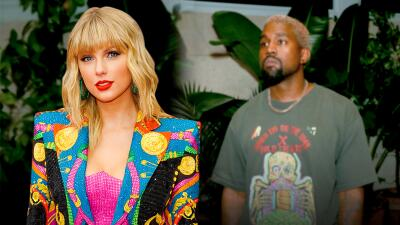 Taylor Swift revive el pleito con Kanye West y lo llama 'doble cara'