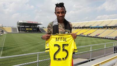 Columbus Crew firma al ghanés internacional Harrison Afful