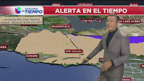 Día soleado y con temperaturas templadas, el pronóstico para este sábado en Los Ángeles