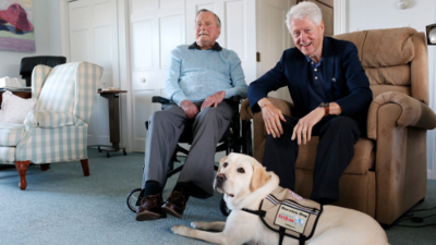 Conozcan a Sully, el nuevo compañero de la familia Bush