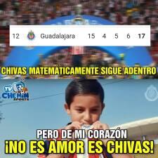 Memelogía: siguen cayendo los memes como ofrendas para Chivas y Necaxa