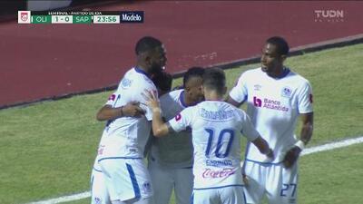 ¡La potencia de Benguche da el 1-0 al Olimpia!