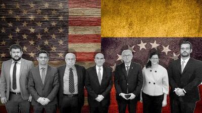 """La foto """"oficial"""" que revela lo que hay detrás de la nueva relación de EEUU con el gobierno interino de Venezuela"""