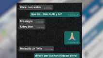Autoridades de Arizona alertan por una nueva modalidad de estafa en la que un contacto de Whatsapp pide dinero