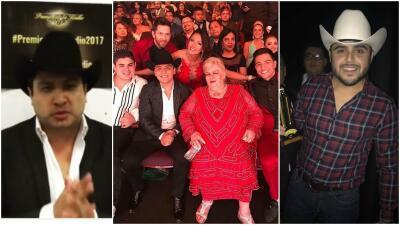 Julión Álvarez sí estuvo presente en Los Premios de la Radio en California, ¿Cómo le hizo?