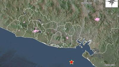 Sismo de magnitud 5.9 sacude El Salvador y se siente en zonas de Nicaragua y Honduras