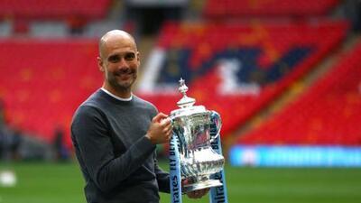 """Guardiola, tras ganarlo todo en Inglaterra: """"Esto es más difícil que ganar la Champions"""""""