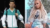 Ofrecen 70 mil USD a modelo para grabarse con Djokovic en la cama