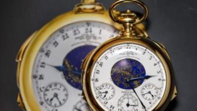 El reloj más caro del mundo se subastó en más de $21 millones