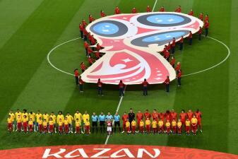 En fotos: Bélgica hace un partido perfecto y vence 2-1 a Brasil para eliminarlo