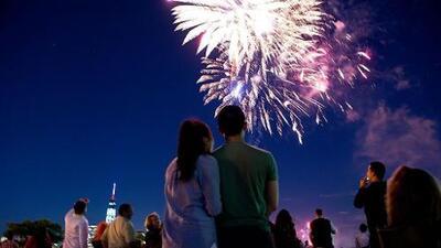 Una guía de los espectáculos de fuegos artificiales para el 4 de julio en el Área de la Bahía