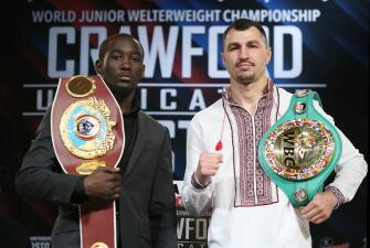 Terence Crawford y Viktor Postol presentaron pelea