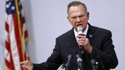 Roy Moore impugna el resultado de la elección en Alabama por fraude, pero no presenta pruebas