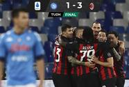 Ibra le gana al Chucky y Milan pasa sobre el Napoli