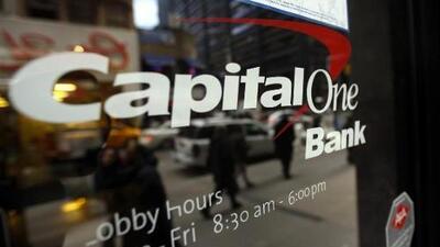 Hackean la información personal de más de 100 millones de clientes de Capital One