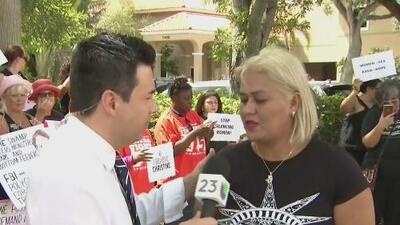 Manifestantes en Florida piden que Kavanaugh no sea confirmado como juez de la Corte Suprema