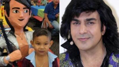 Niño festeja su cumpleaños con temática de 'Albertano Santacruz'