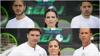 Gol contra reloj: los talentos de Univision se enfrentaron desde los 12 pasos