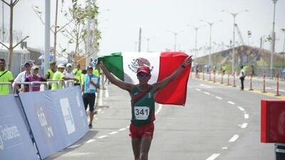 México se adjudicó el oro en marcha 50km en Barranquilla 2018