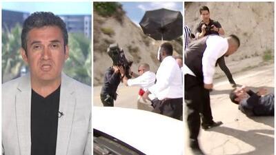 """""""Sentí que venían tras de mí"""": camarógrafo de El Gordo y La Flaca denuncia acoso durante la boda de Chiquis Rivera"""