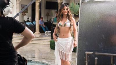 No se pierdan a nuestra Clarissa Molina en el nuevo video musical de Nicky Jam y Silvestre Dangond