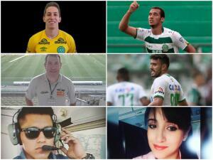 Los seis sobrevivientes del accidente aéreo del Chapecoense