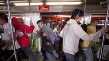 En fotos: el eterno viaje al trabajo en Ciudad de México