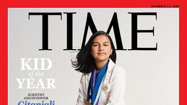 Científica, inventora y una inspiración para otros, Gitanjali Rao se convierte en la primera 'Niña del año' de la revista Time