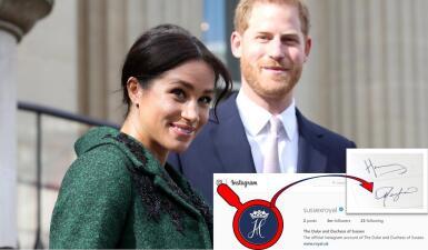 Los 7 mensajes ocultos de Meghan Markle y el príncipe Harry que descubrimos en su nueva cuenta de Instagram